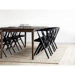 Sibast No 8 chair, black - black leather