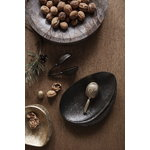 Ferm Living Forest tray, small, brass