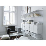 String Furniture String cabinet, 78 x 30 cm, white