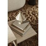 Ferm Living Meridian table lamp, cashmere