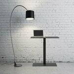 Selka Mahtuva adjustable desk, black
