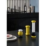 Alessi Sottsass grinder, large, yellow - black - white