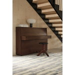 Roots Living Pilari rug, bamboo - wool, blue - vanilla