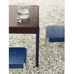 Skagerak Gerda stool, royal blue - pebble grey