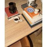 Fritz Hansen CM earthenware vase, small, Tenmoku