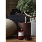 Ferm Living Sekki pot, M, rust