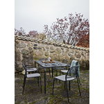 Skagerak Mira table 160, anthracite black