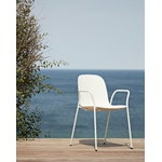 Hay 13Eighty armchair, grey white - chalk white