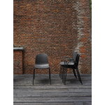 Hay 13Eighty armchair, graphite black - soft black