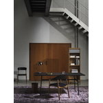 Normann Copenhagen Herit armchair, smoked oak - black