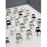 Normann Copenhagen Herit armchair, smoked oak - grey