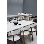 Normann Copenhagen Herit tuoli käsinojilla, tammi - valkoinen