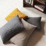 Fritz Hansen AJ Tassel cushion, 45 x 45 cm, ochre