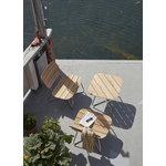 Skagerak Lilium sohvapöytä, tiikki - ruostumaton teräs
