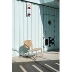 Skagerak Lilium lounge chair, teak - stainless steel