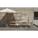 Skagerak Lilium bench, teak - stainless steel