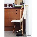 Iris Hantverk Dustpan and brush set, black