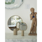Skagerak Aino mirror, large, oak