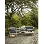 Skagerak Virkelyst 2-istuttava sohva, tiikki - hiilenharmaa