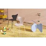 Fritz Hansen Series 7 lasten tuoli, roosa