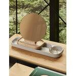 Fritz Hansen KN Slide table mirror, ash - grey concrete