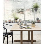 Ferm Living Vaso Hexagon, L, ottone