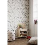 Ferm Living Calm tyyny, 80 x 80 cm, beige - musta