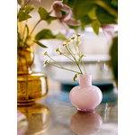 Marimekko Flower vase, amber