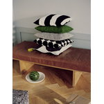 Marimekko Kivet cushion cover 50 x 50 cm, off white - black
