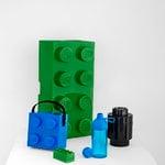 Room Copenhagen Lego drinking bottle, transparent, blue