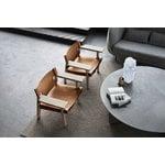 Fredericia The Spanish Chair nojatuoli, konjakinruskea nahka - saippuoitu t