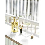 Tivoli Porter wine stopper, brass