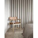 Fredericia The Spanish Dining Chair tuoli käsinojilla, konjakki nahka - sai