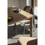 Hem Touchwood chair, natural beech - chrome