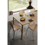 Hem Log pöytä, 140 x 90 cm, tammi