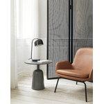 Normann Copenhagen Turn sivupöytä 55 cm, harmaa