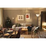 Ariake Paperwood coffee table, oak