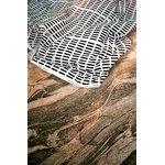 Artek Siena canvas puuvillakangas, 150 x 300 cm, valkoinen - musta
