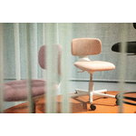 Vitra Rookie task chair, pale rose melange - light grey