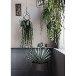 Ferm Living Hanging Deco pot, black