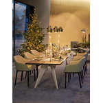 Vitra Em Table 200 x 90 cm, oak - ecru