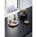 Normann Copenhagen Geo termoskannu, musta - kulta