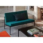 Artek Kiki sohvapöytä 140 x 60 cm, musta