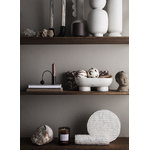 Ferm Living Alza bowl, white marble