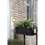 Ferm Living Bau balcony box, black