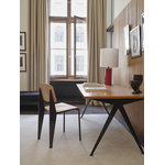Vitra Standard chair, black - oak