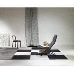Woodnotes Siro+ chair, black - black leather