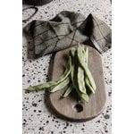 Ferm Living Hale keittiöpyyhe, vihreä - musta