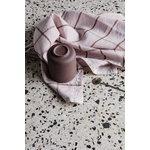 Ferm Living Hale tea towel, rose - rust