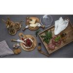 Sagaform Coltelli da formaggio Oak, set di 3